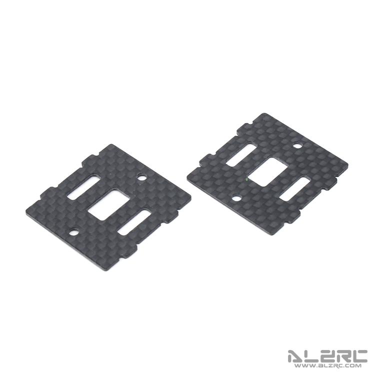 ALZRC - Devil 465 RIGID 碳纤陀螺仪固定板