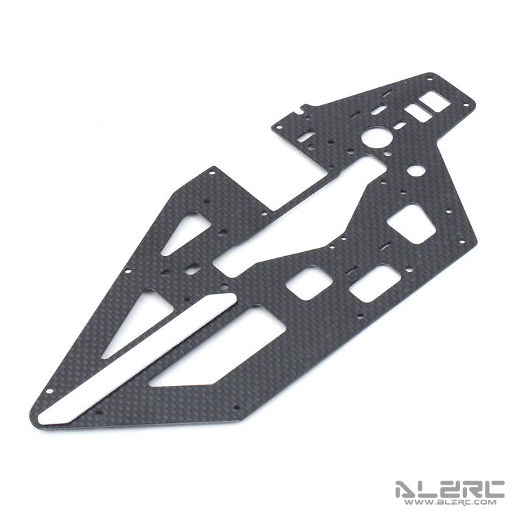 ALZRC - Devil 465 RIGID 碳纤主体左侧板 -1.2mm