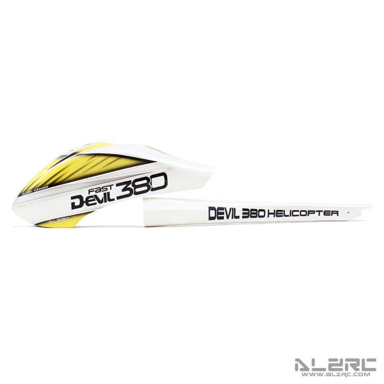 ALZRC - Devil 380 FAST 玻纤彩绘外壳套装/P-C