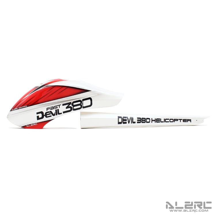 ALZRC - Devil 380 FAST 玻纤彩绘外壳套装/P-A