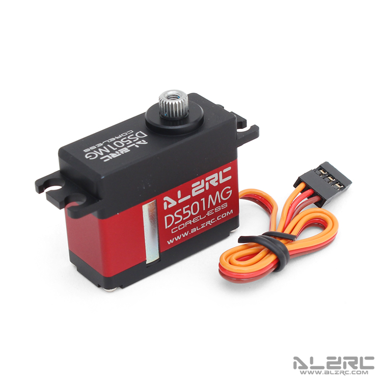 ALZRC - DS501MG Medium Digital Metal Locked Rudder Servo
