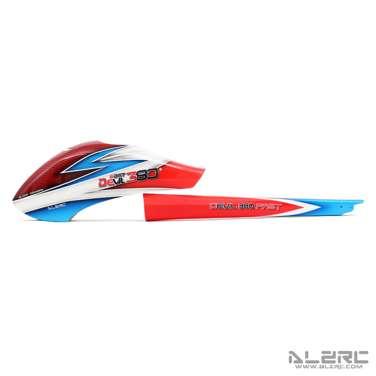 ALZRC - Devil 380 FAST 玻纤彩绘外壳套装/F-A