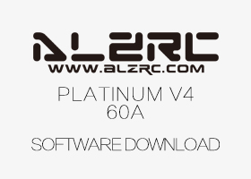 ALZRC - Pentium 60A V4 Brushless Speed Controller Software Download