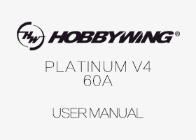 ALZRC - Pentium 60A V4 Brushless Speed Controller User Manual
