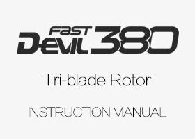 ALZRC - Devil 380 FAST TBR Instruction Manual