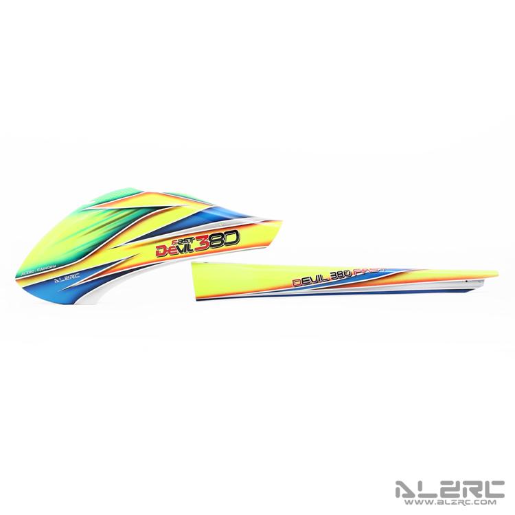 ALZRC - Devil 380 FAST 玻纤彩绘外壳套装/F-B