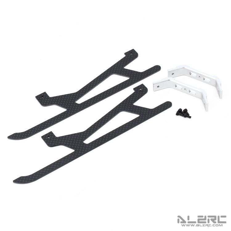 ALZRC - Devil 450 Metal Carbon Fiber Landing Skid Assembly