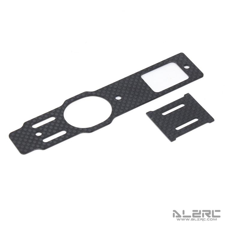 ALZRC - Devil 480 RIGID 碳纤底板 + 陀螺仪固定板