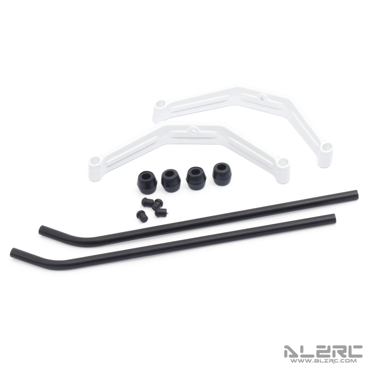 ALZRC - Devil 450 SDC/DFC Landing Skid Assembly - White