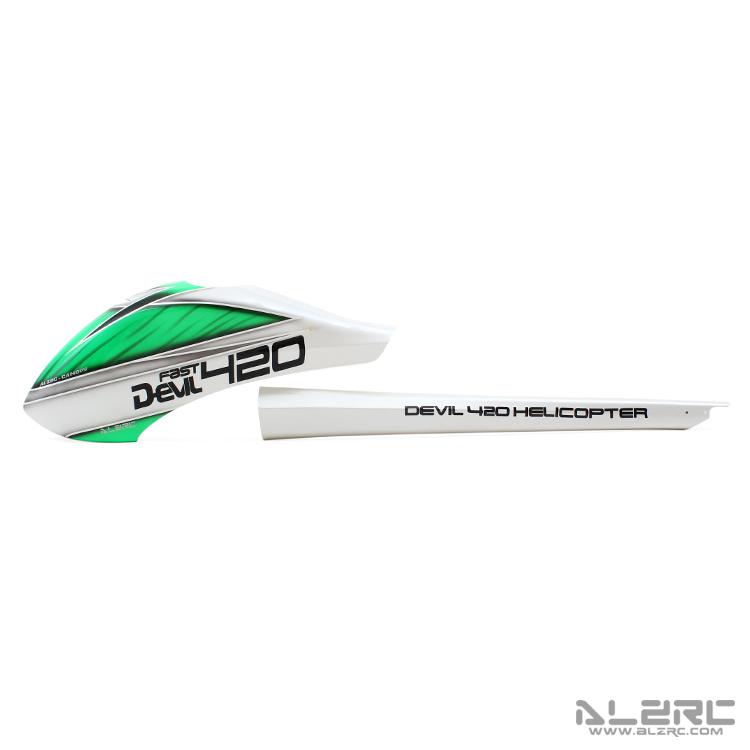 ALZRC - Devil 420 FAST 玻纤彩绘外壳套装/P-B