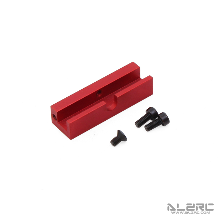 ALZRC - Devil 500 RIGID Battery Plate Block Mount