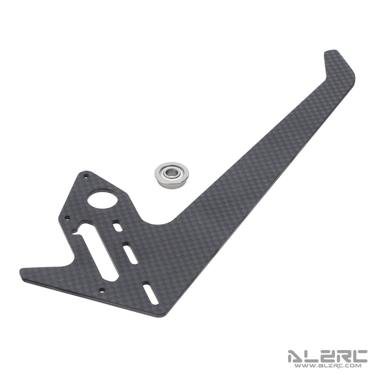 ALZRC - Devil 505 FAST Carbon Fiber Vertical Stabilizer - 2.0mm