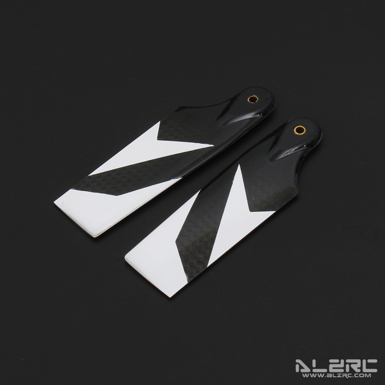 ALZRC - Devil 505 FAST Carbon Fiber Tail Blade - 80mm