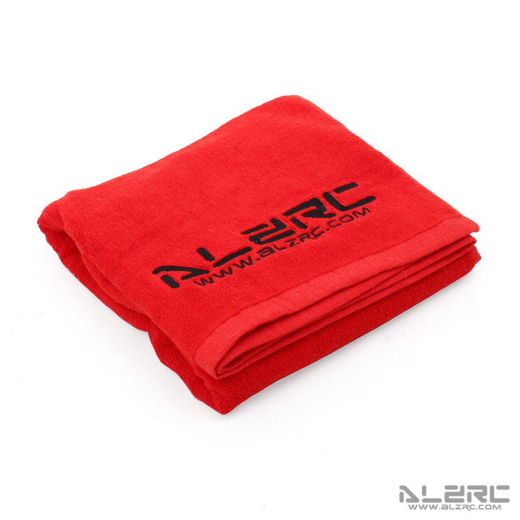 ALZRC - Build Towel - Red