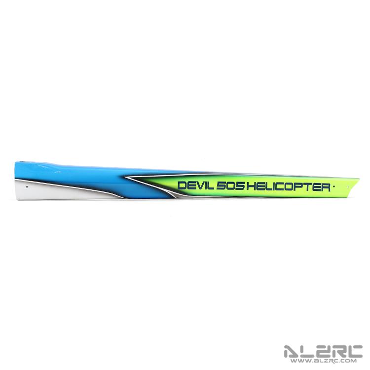 ALZRC - Devil 505 FAST Carbon Fiber Painting Tail Boom - S-A
