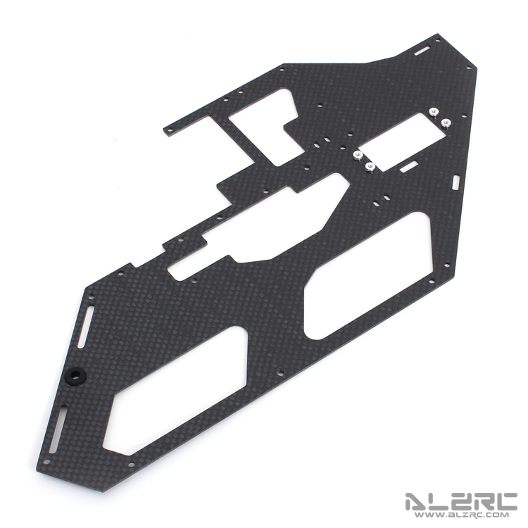 ALZRC - Devil X5 Carbon Fiber Main Frame - 1.5mm - Left