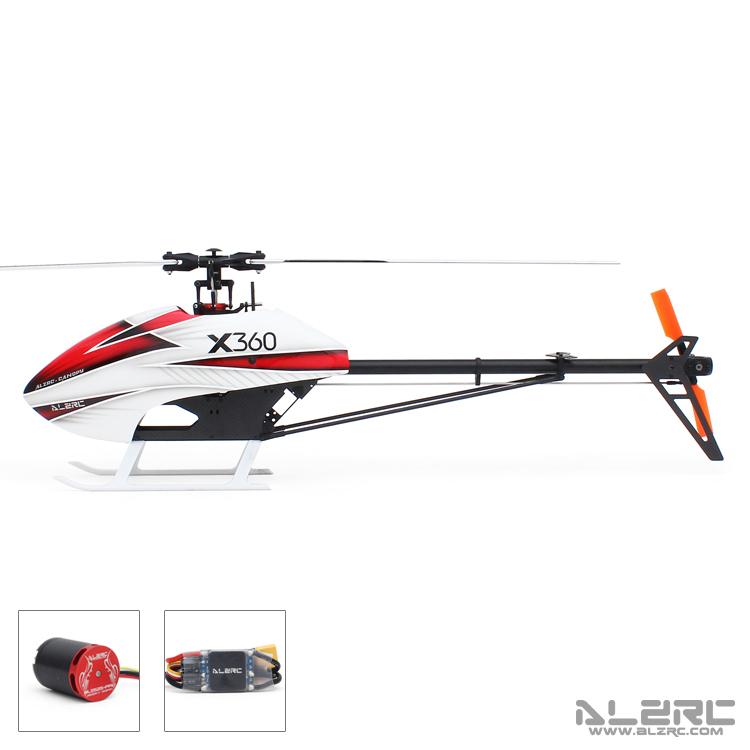 ALZRC - Devil X360 FBL Combo 标准套装 - 50A