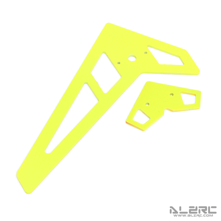 ALZRC - Devil X360 Painting Vertical Horizontal Stabilizer - 1.5mm - Yellow