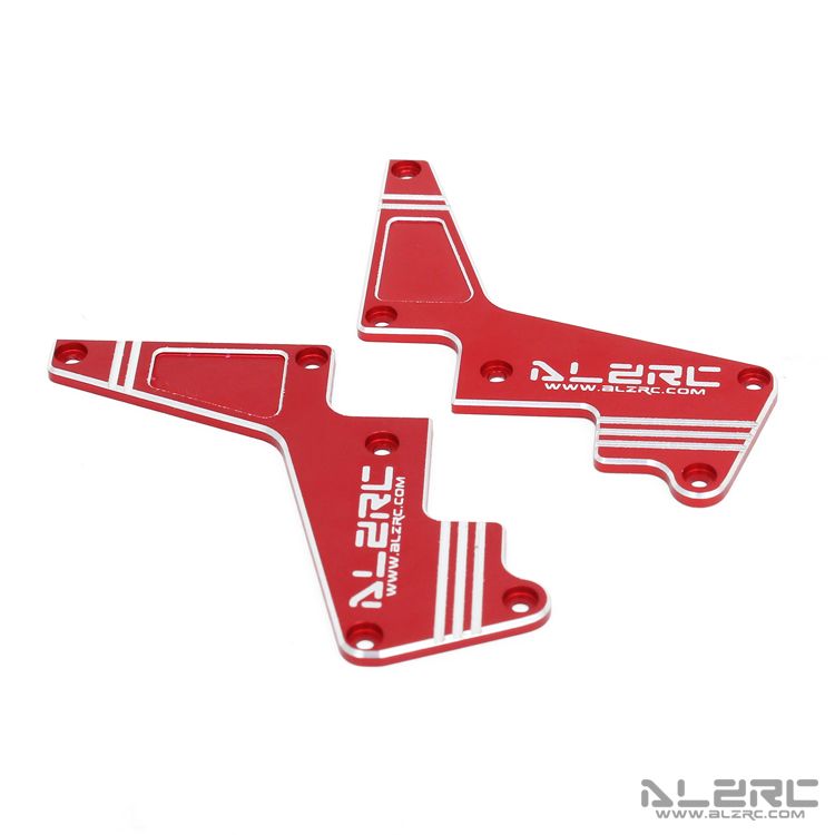ALZRC - Devil X360 Metal Shapely Reinforcement Plate Assembly - Red