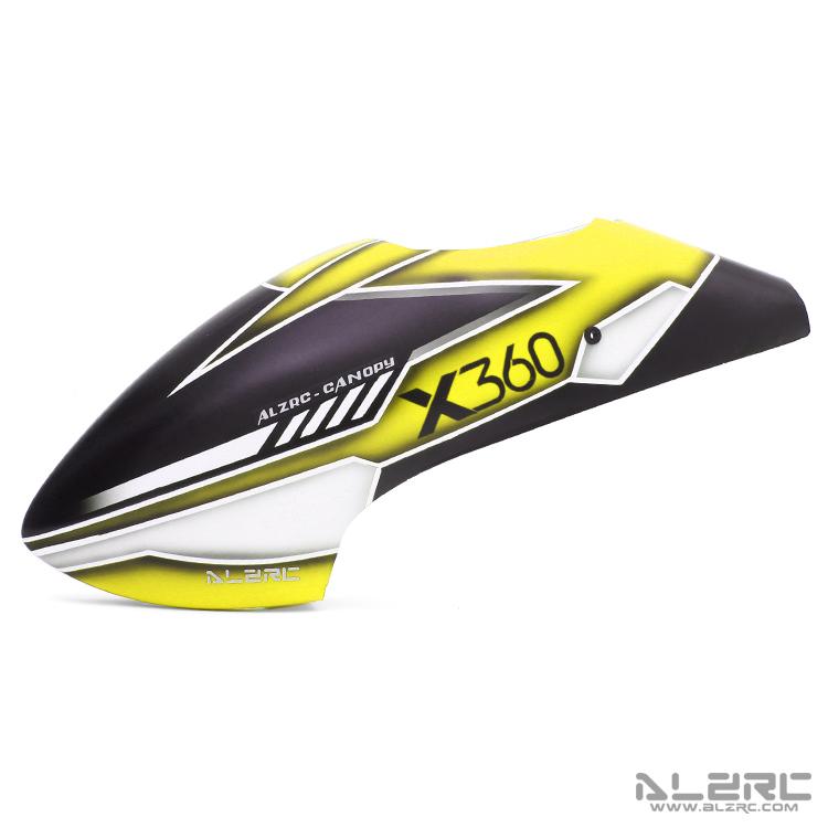 ALZRC - Devil X360 玻纤彩绘机头罩 - 19-C