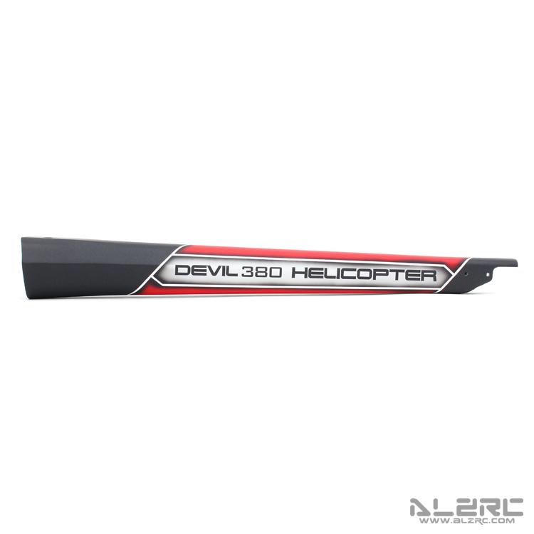 ALZRC - Devil 380 FAST 碳纤彩绘尾管 - 19-A
