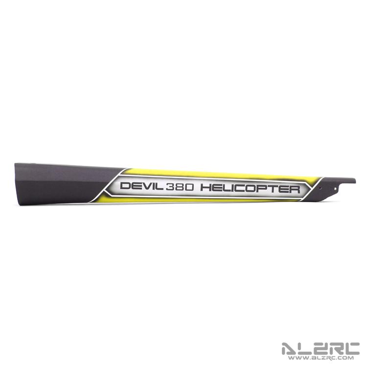 ALZRC - Devil 380 FAST 碳纤彩绘尾管 - 19-C