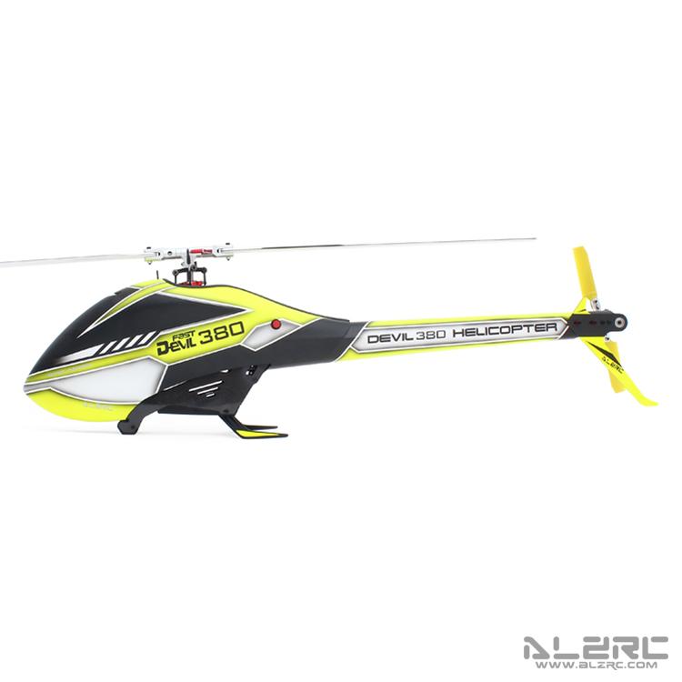ALZRC - Devil 380 FAST FBL KIT 空机版 - 银 - 2019
