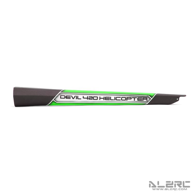 ALZRC - Devil 420 FAST 碳纤彩绘尾管 - 19-B