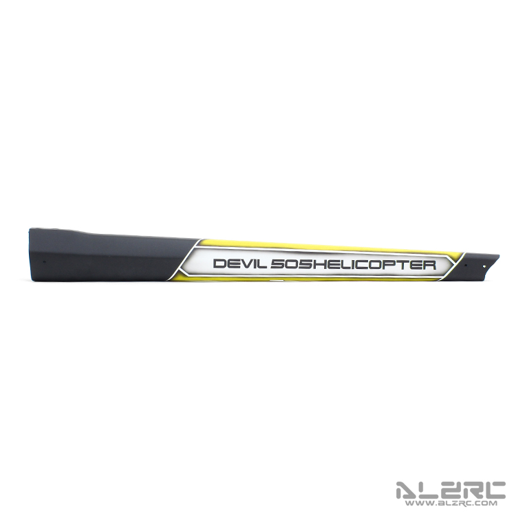 ALZRC - Devil 505 FAST Carbon Fiber Painting Tail Boom - 19-CW