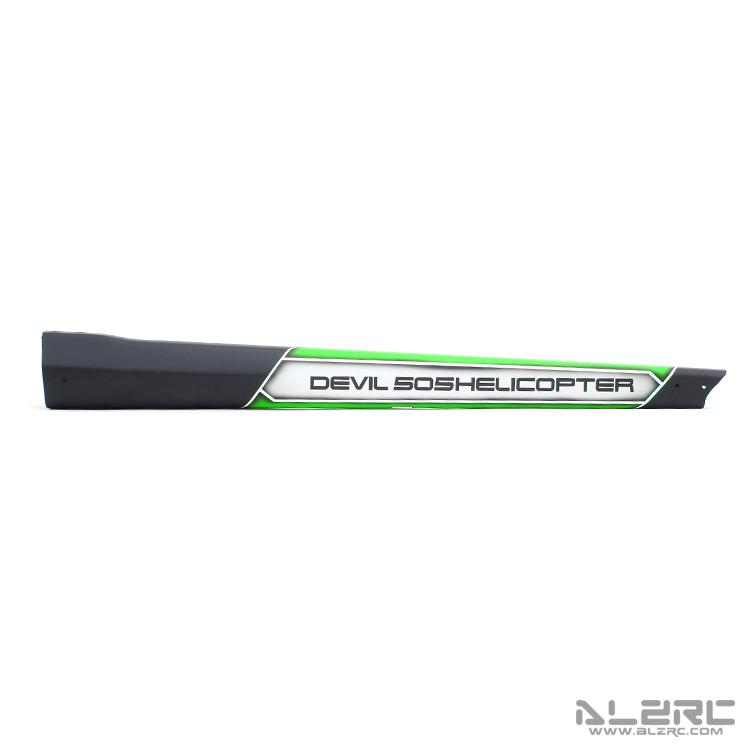 ALZRC - Devil 505 FAST 碳纤彩绘尾管 - 19-BW