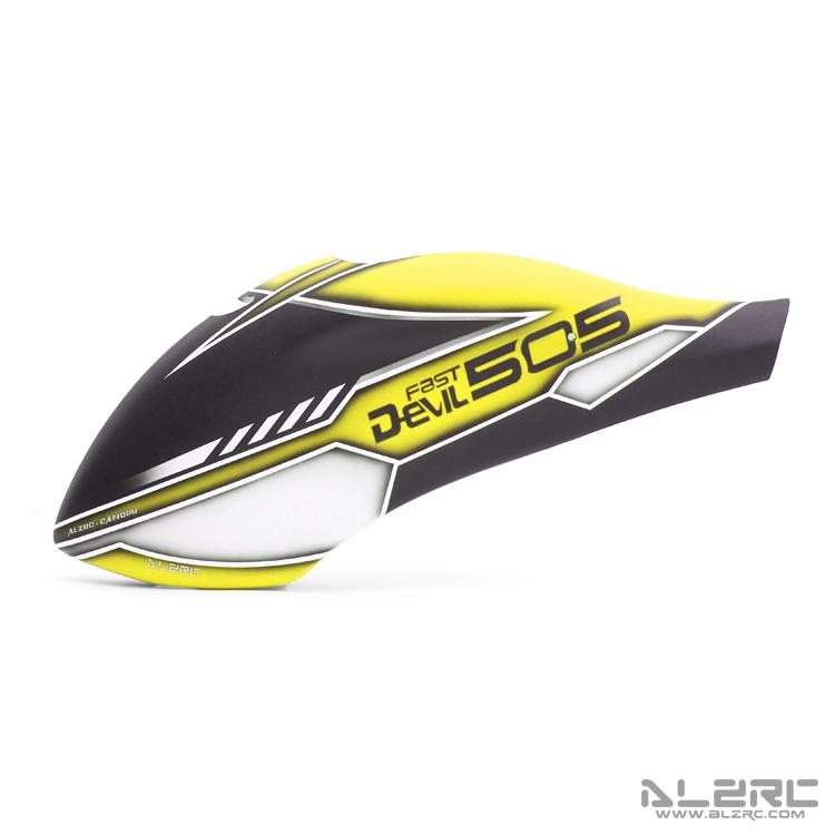 ALZRC - Devil 505 FAST 玻纤彩绘机头罩 - 19-CC