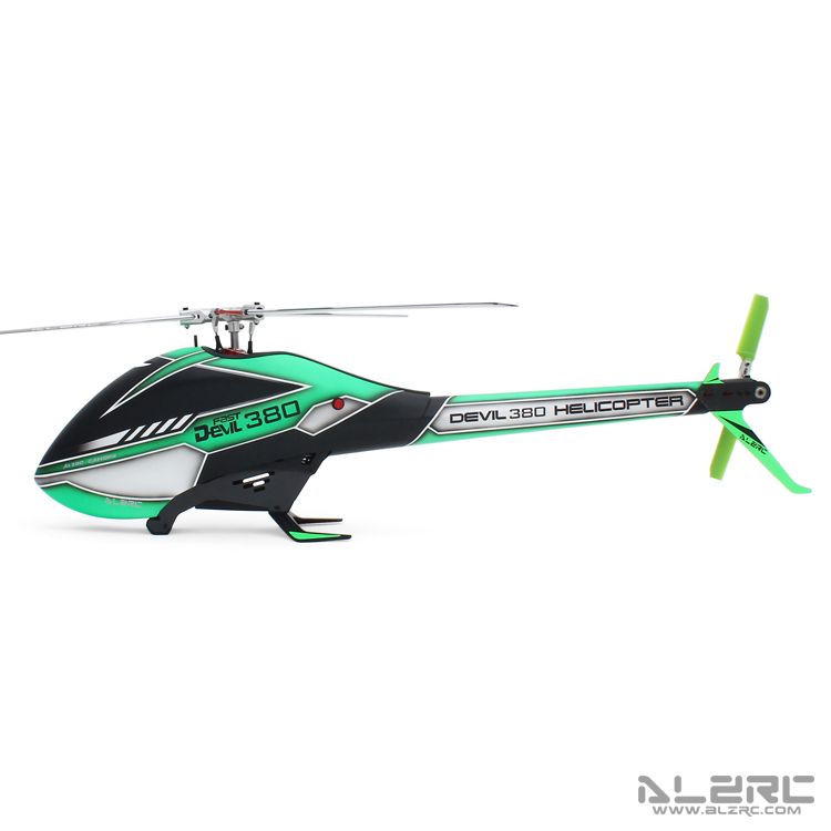 ALZRC - Devil 380 FAST TBR 三桨旋翼头空机版 - 银 - 2019