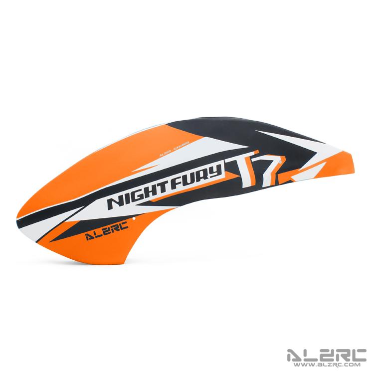 ALZRC - N-FURY T7 玻纤彩绘机头罩 - 2020A - 橙