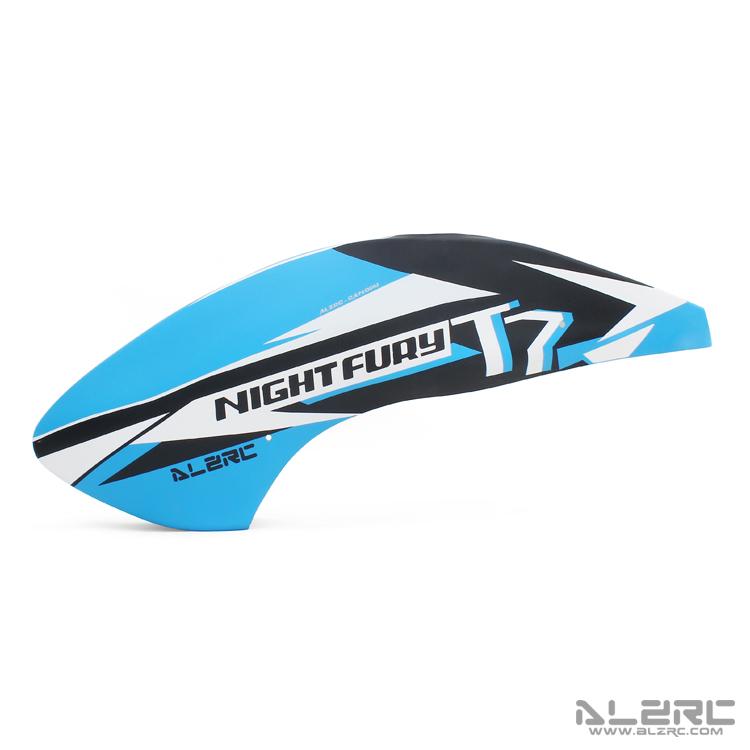 ALZRC - N-FURY T7 玻纤彩绘机头罩 - 2020A - 蓝