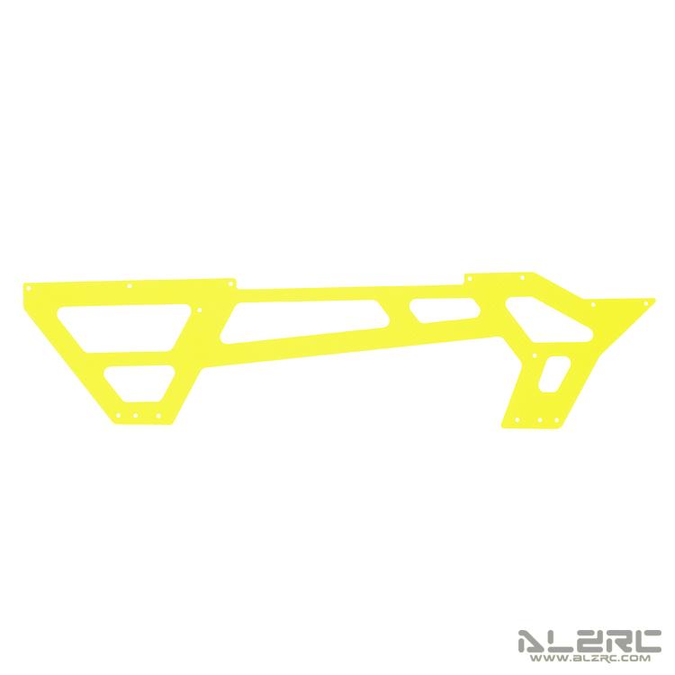 ALZRC - N-FURY T7 彩绘碳纤机身下侧板 - 2.0mm - 3° - 黄
