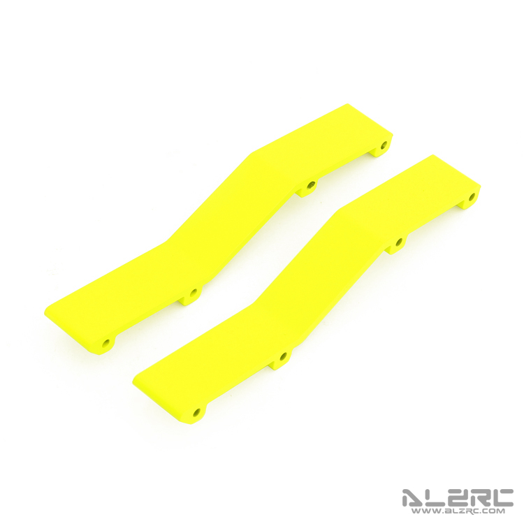 ALZRC - N-FURY T7 Printed Main Frame Connection Plate - Rear - Yellow