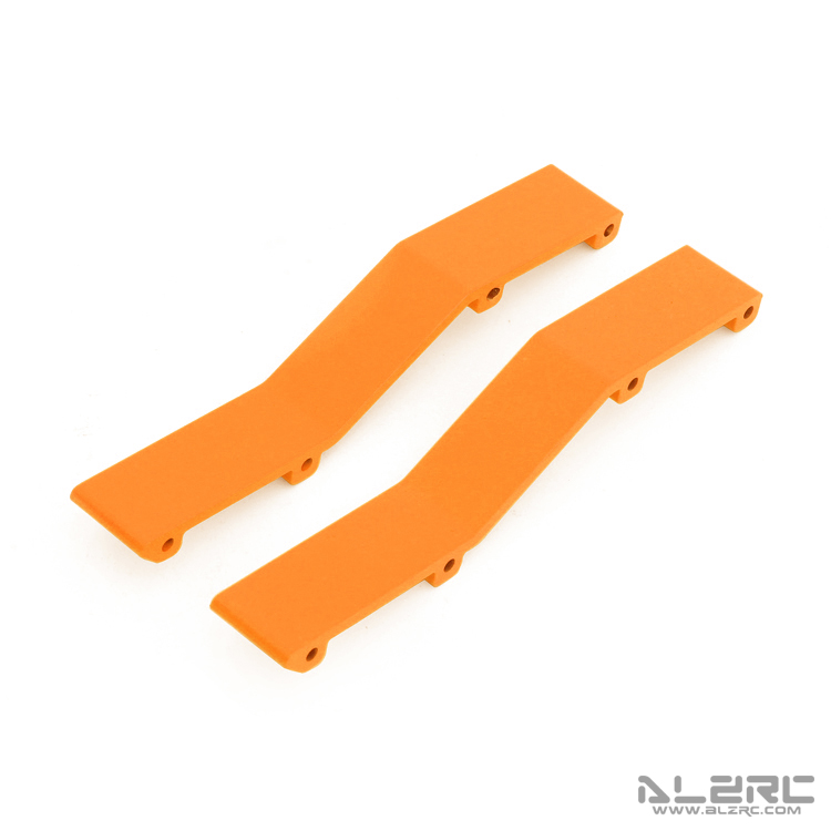 ALZRC - N-FURY T7 Printed Main Frame Connection Plate - Rear - Orange