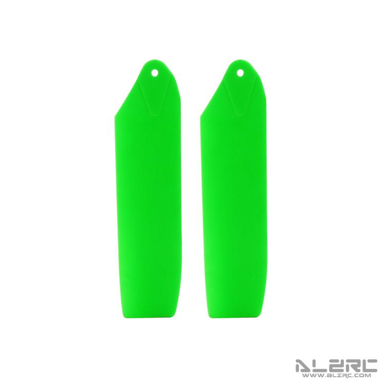 ALZRC - Plastic Tail Blades - 69mm - Green